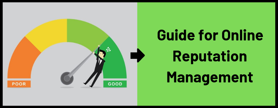 A Brief Guide to Online Reputation Management