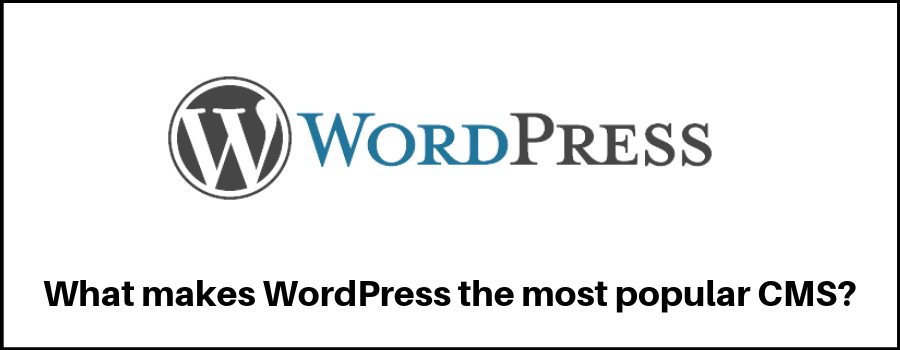 What makes WordPress the most popular CMS?